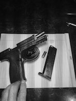 photo of a surrendered gun in Toronto given to Piece Options