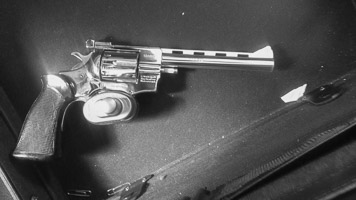 photo of a surrendered gun in Ottawa given to Piece Options